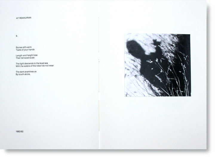 Objectif Press - PAGES OF THE WOUND: Poems Drawings Photographs 1956-94